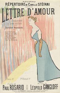 Sheet music Lettre d'amour - naveen sharma
