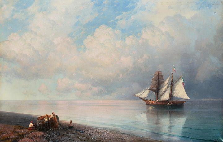 Ivan Konstantinovich Aivazovsky, Cal - naveen sharma