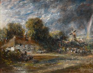 John Constable, R.A. EAST BERGHOLT,