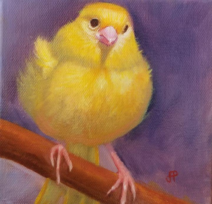 Canary - JoannPolosArt