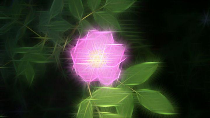 The Crystal Flower - BlownMind Design