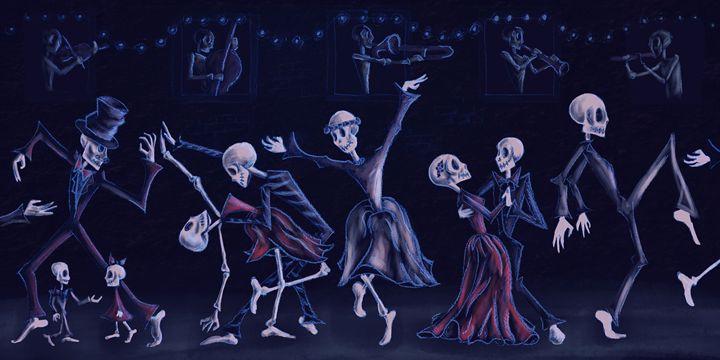 Dance the Night (Blue) - Lillustration