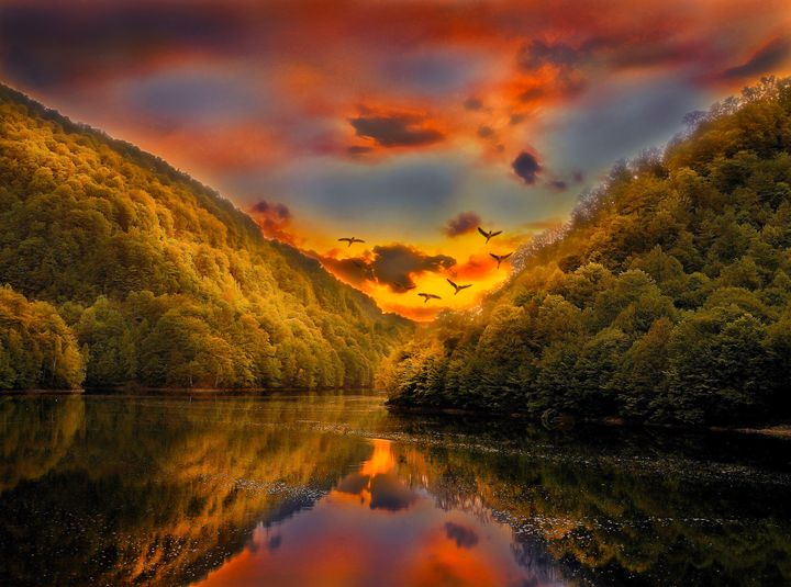 sun goes down - nicepics