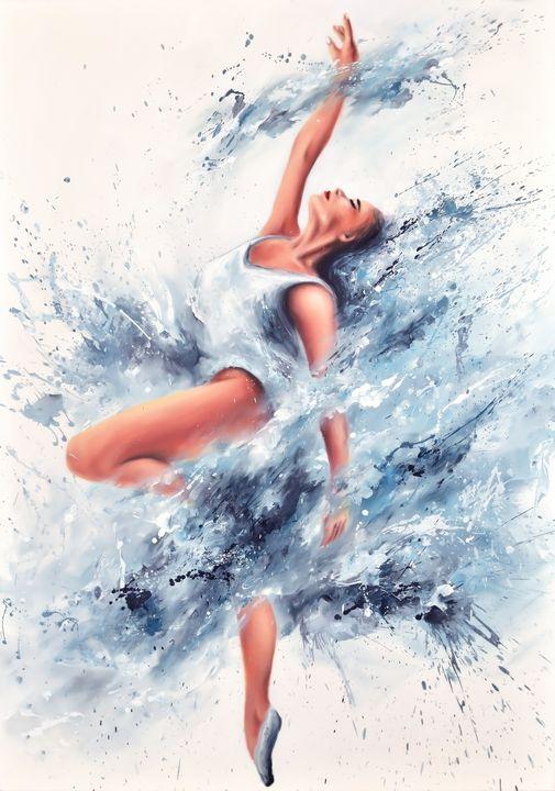 Dancing in the clouds - MSLart