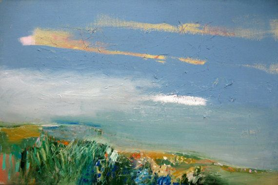 The Fields Before the Ocean - Abstract Landscapes