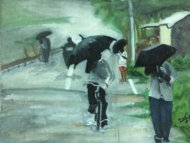 Rainy day - Uma Brintha