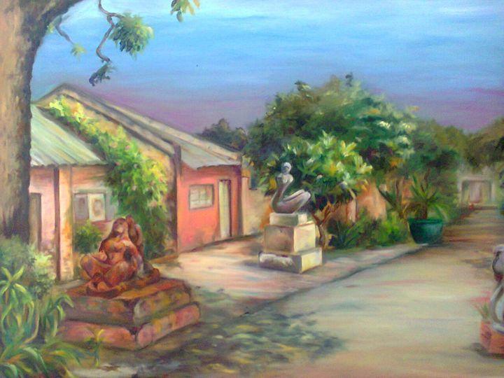 Abstract Work - Kirti Art gallery