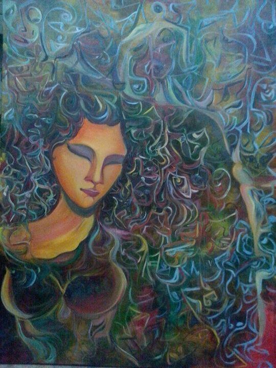 Woman On Style - Kirti Art gallery