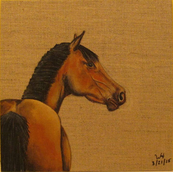Look Over - Winter Hall- Equine Art and More