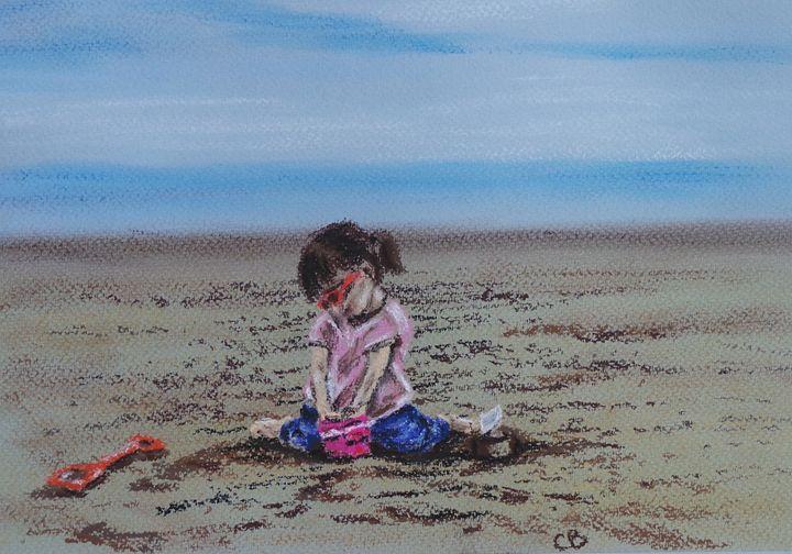 Summer Sandcastles - Cheryl Ball Art