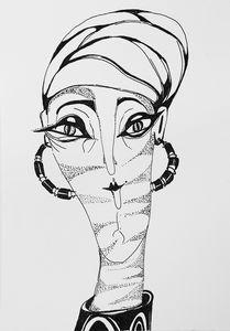Woman in a turban