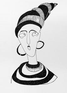 Woman turban
