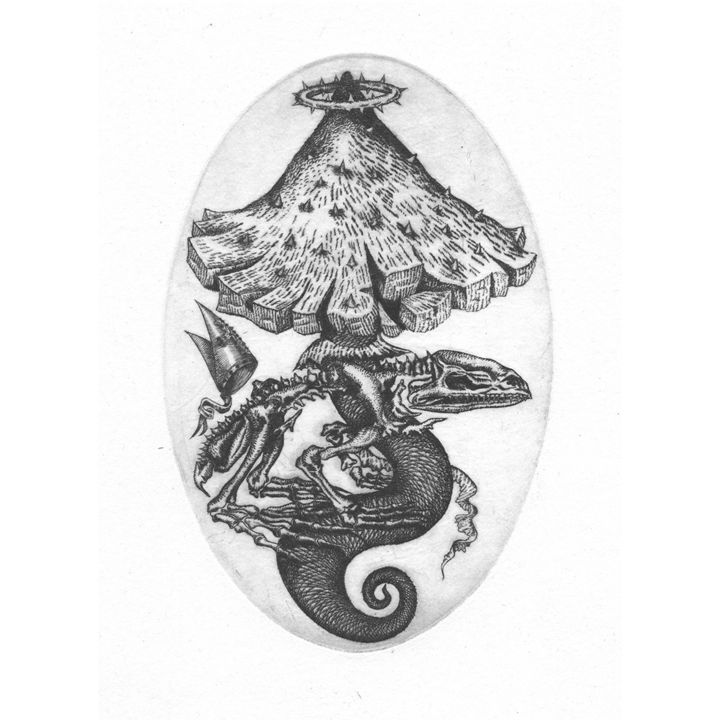 St. Kiss under the volcano - Przemyslaw Tyszkiewicz