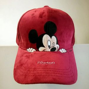 Mickey Mouse hand-painted cap