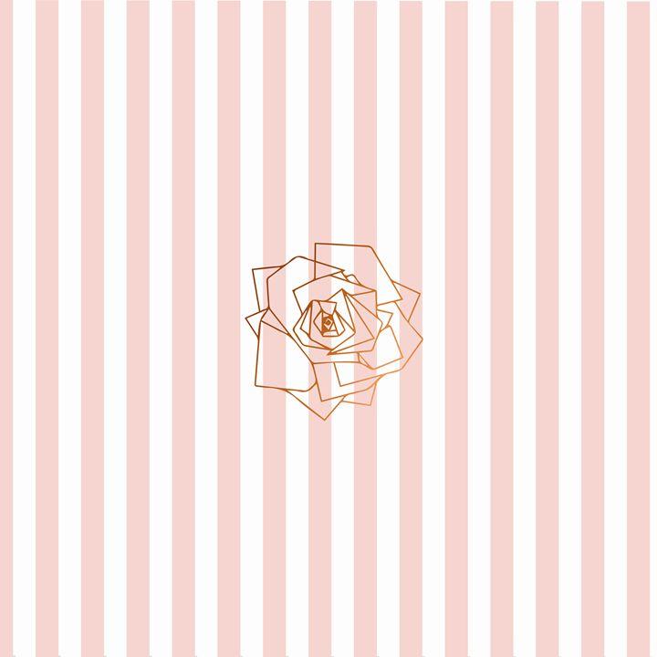 Pink Rose - Doretta Design