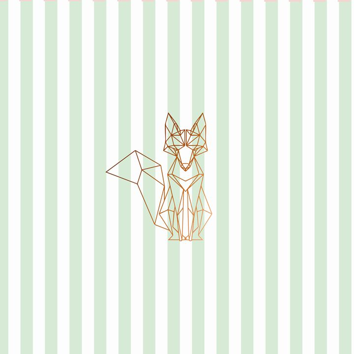 Green fox - Doretta Design