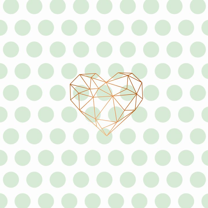 Green heart - Doretta Design