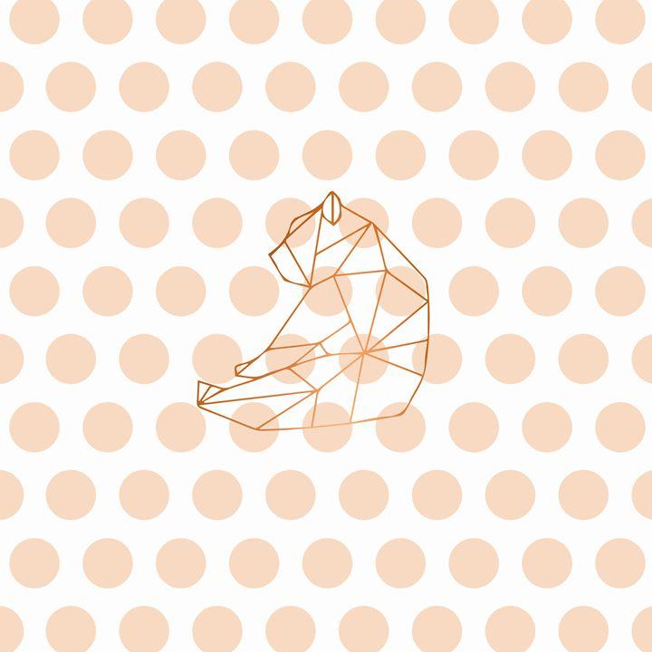 Peach Bear - Doretta Design