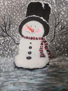 Happy Snowman - Kim's Corner