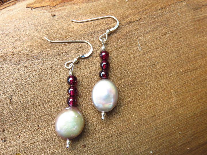 Silver Plated Beaded Dangle Earrings - Craftwerks by Jules