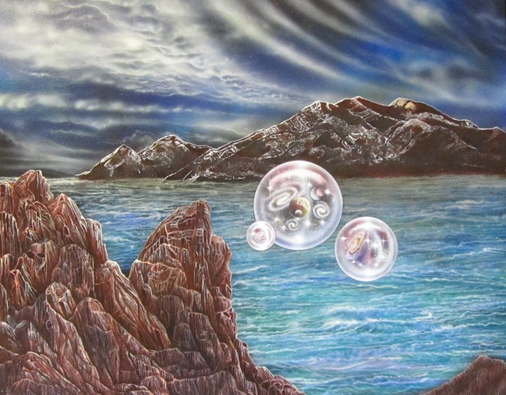 Taos Mountain with Multiverse - Sam Del Russi- Multiverse