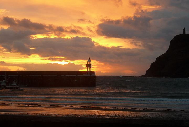 Port Erin Sunset - Manx Haven