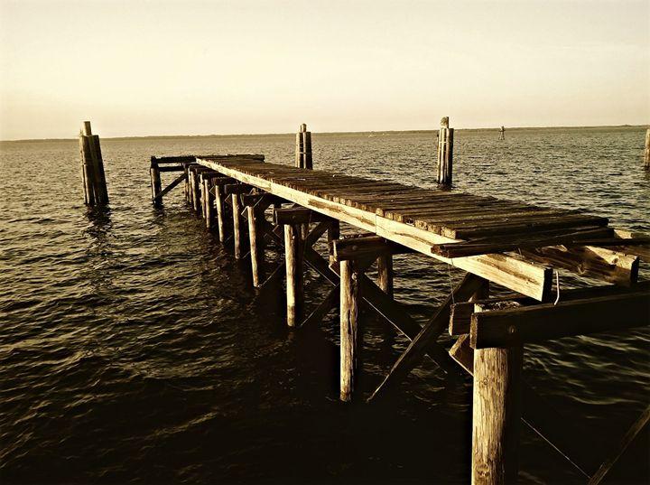wrecked pier - Emmanuel Drew