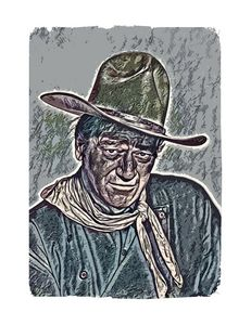 A tribute to John Wayne