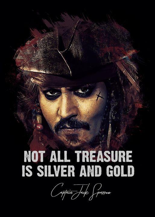 Jack Sparrow fan art quote - Naumovski