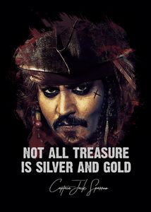 Jack Sparrow fan art quote
