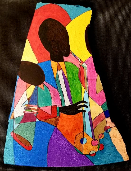 Jazz Players on granite - Graceeexpressions