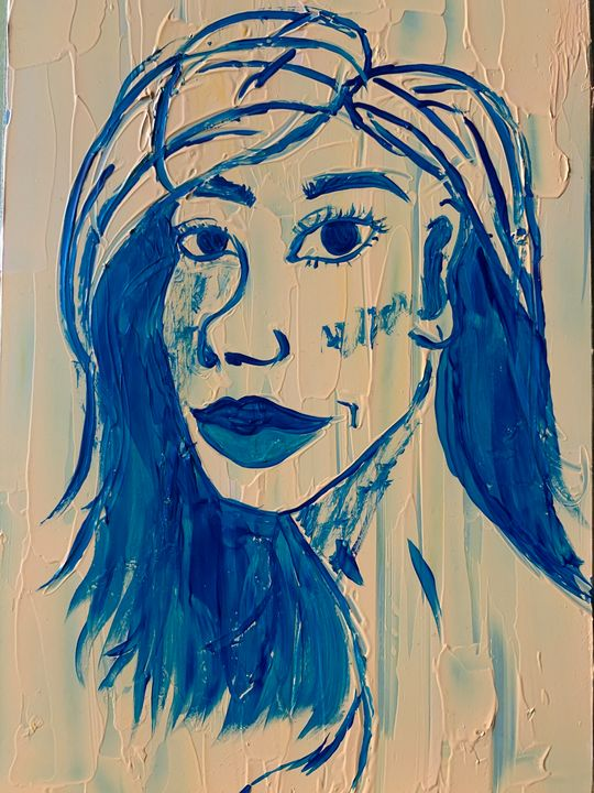 Blue. - Margo Joy Art