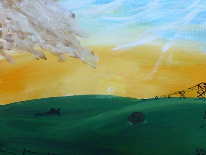 South Dakota Sunset - Inspired Art and Crafts