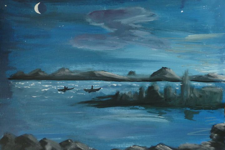 Twilight Kayak - Inspired Art and Crafts