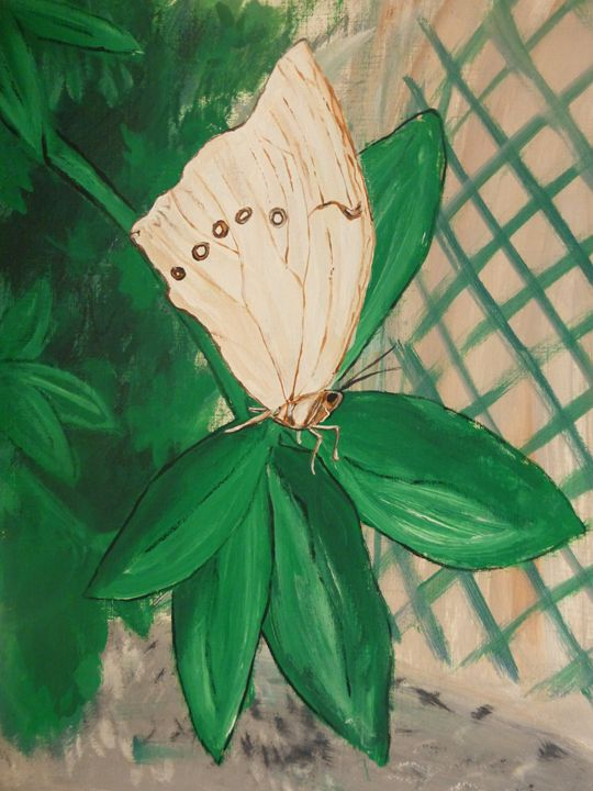 White Butterfly - Inspired Art and Crafts