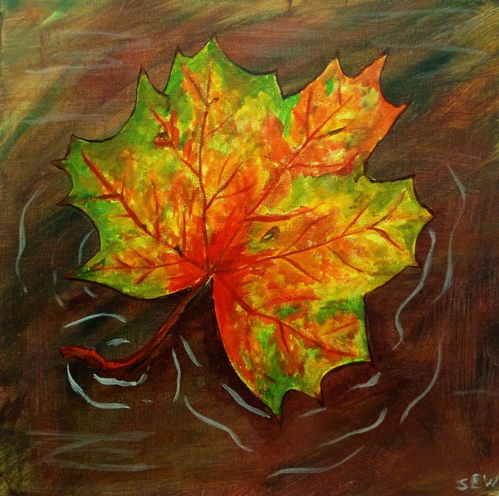 Autumn Sunset - Inspired Art and Crafts