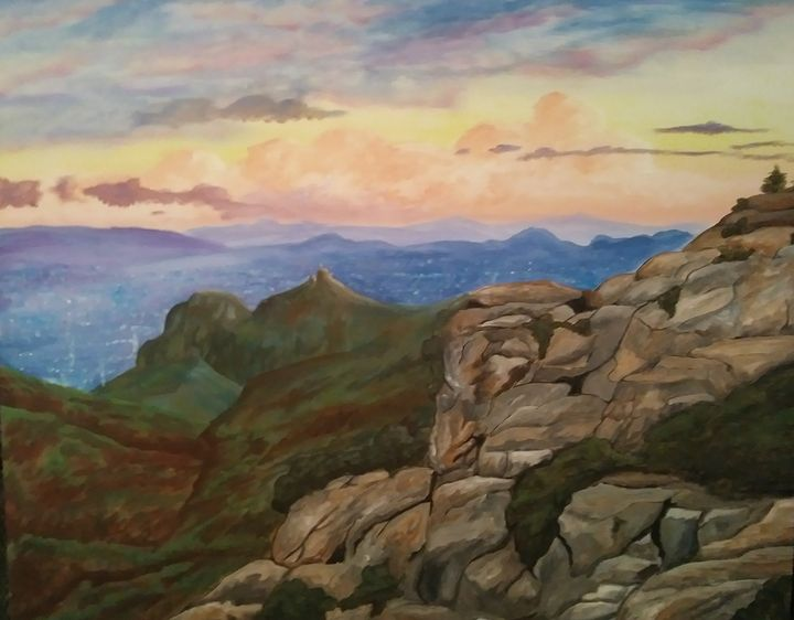 Windy Point Sunset - Inspired Art and Crafts