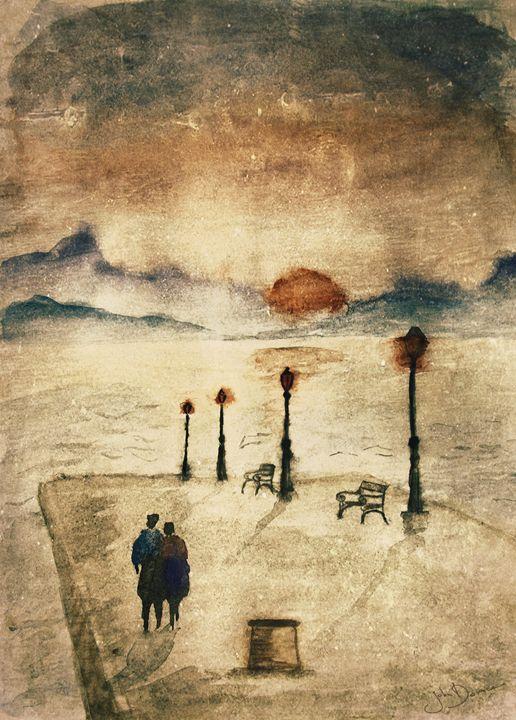 Chimeric sunset - JohnDonica