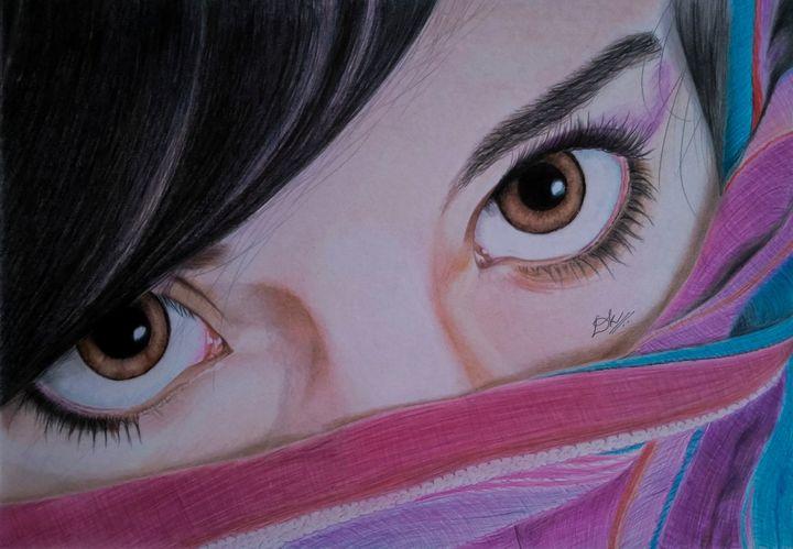 Beautiful Eyes - O2MyArt