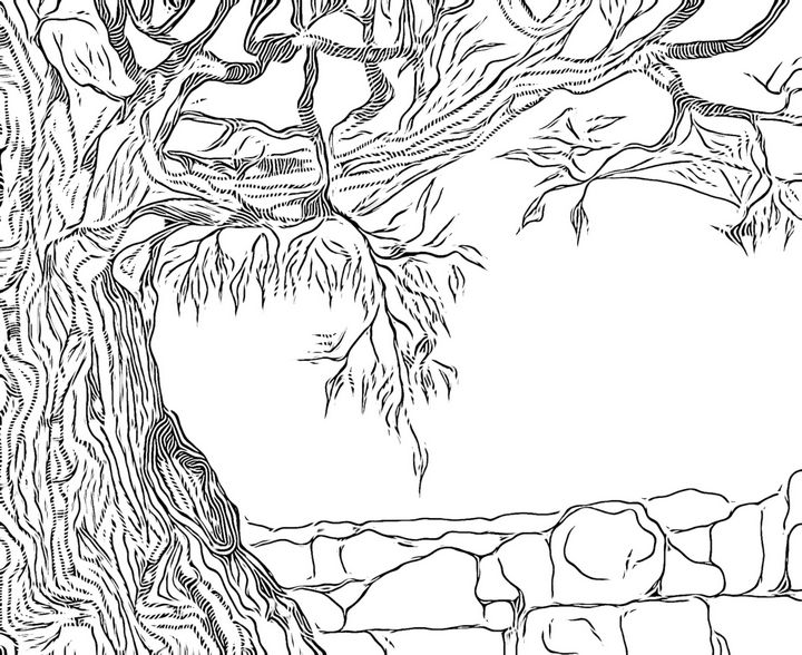 TREE - aMAC Pen and Ink