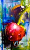 Oil painting on canvas, Abstract Rea