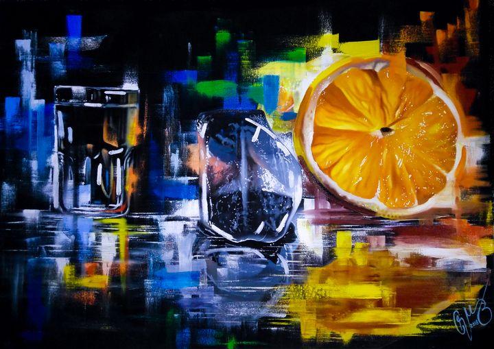 Orange Illusion - Cruz Escobedo.Art