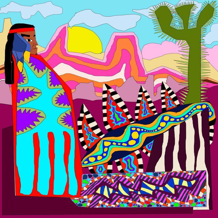 Indian Summer - Steve Martin Art