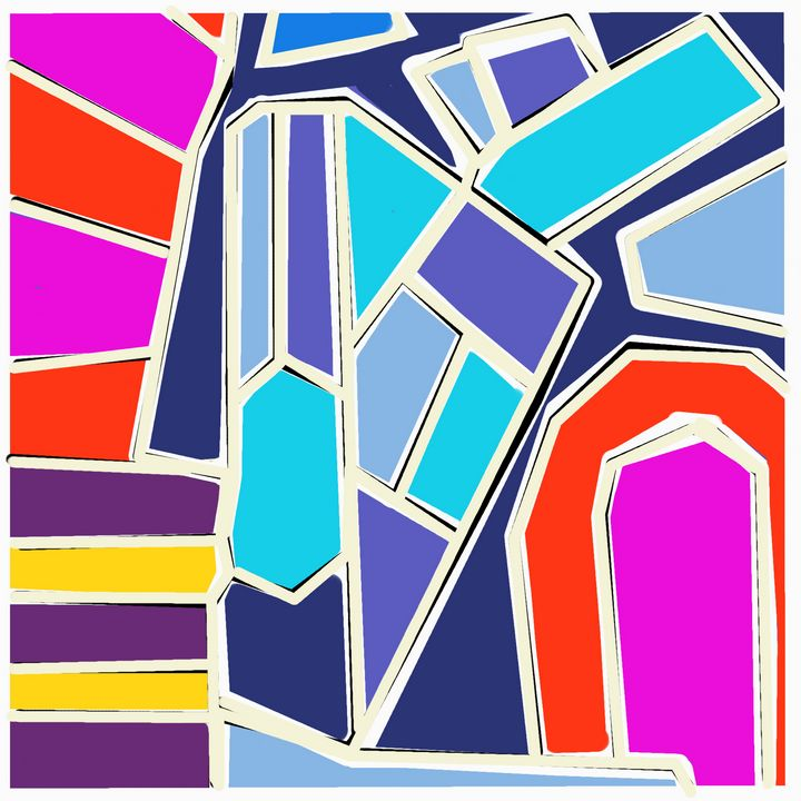 Color Study 8 - Steve Martin Art