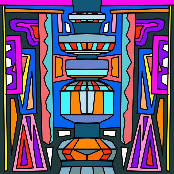 Totem III - Steve Martin Art