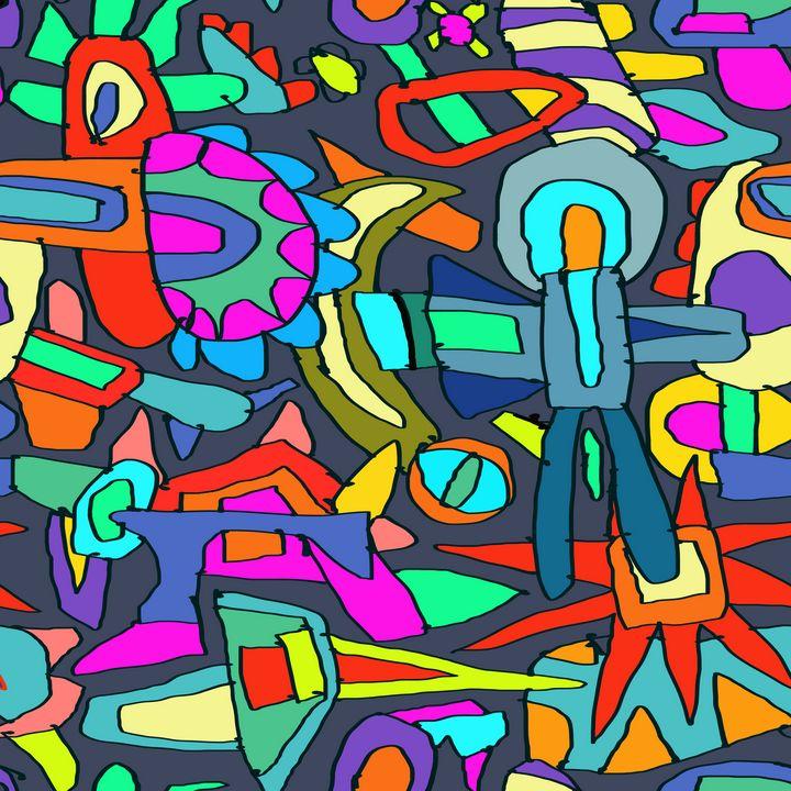 Space Walk - Steve Martin Art