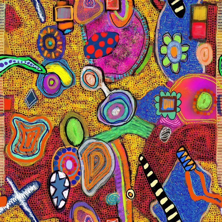 Rock Hopping - Steve Martin Art