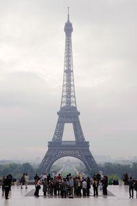 Eiffel Tower/Esplanade du Trocaderos