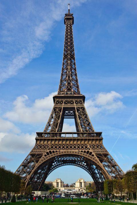 Eiffel Tower, Champ de Mars - Charel Schreuder Photography