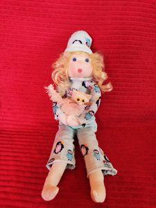 Lisa Girl in pyjamas - Cute Dolls